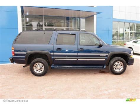 2001 chevrolet suburban 2500 indigo blue metallic 2001 chevrolet suburban 2500 lt 4x4