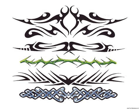 free printable tattoo designs for women armband tattoos