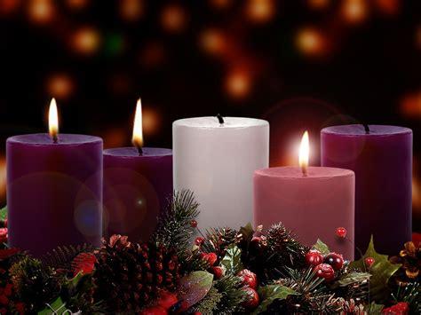 lighting the advent wreath faith and cherrytea candle of advent
