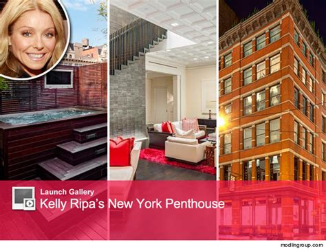 kelly ripa new home kelly ripa selling chic new york penthouse toofab com