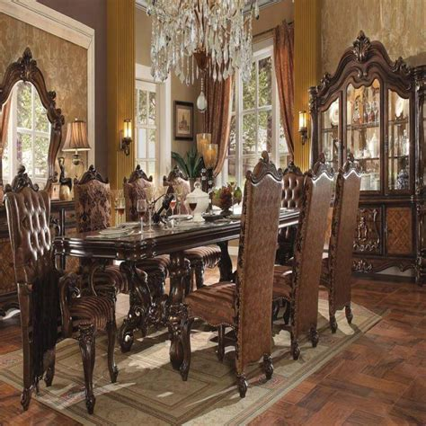versailles dining room dining room set versailles cherry oak antique recreations
