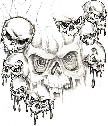 tattoo pictures skulls demons collection of 25 demon skull tattoo sketch