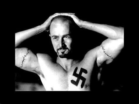 american history x tattoos tattoos does edward norton tattoos looks