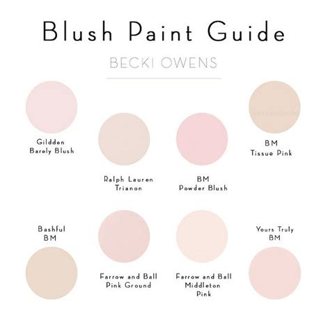 blush paint color ideas pale pink paint color glidden barely blush ralph trianon