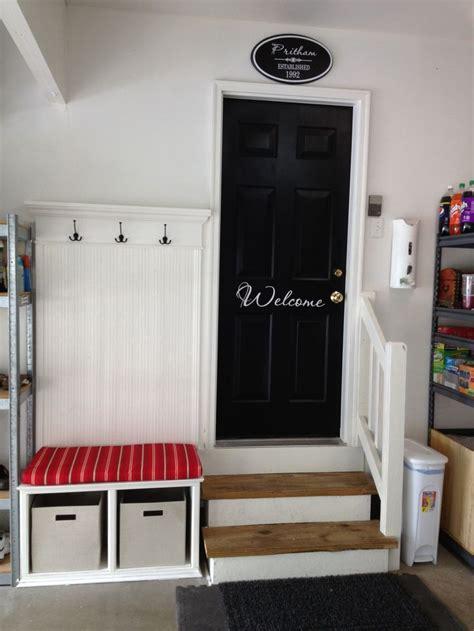 Garage Door Organization Tips Roundup 6 Inspiring Impromptu Garage Mudrooms The Doors