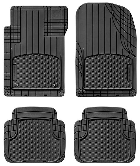 1999 2004 mustang weathertech avm black universal floor mats trim to fit w11avmsb