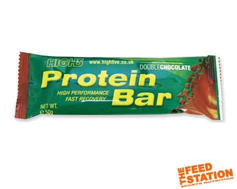 5 protein bars high 5 protein bar the feed station endurance sports