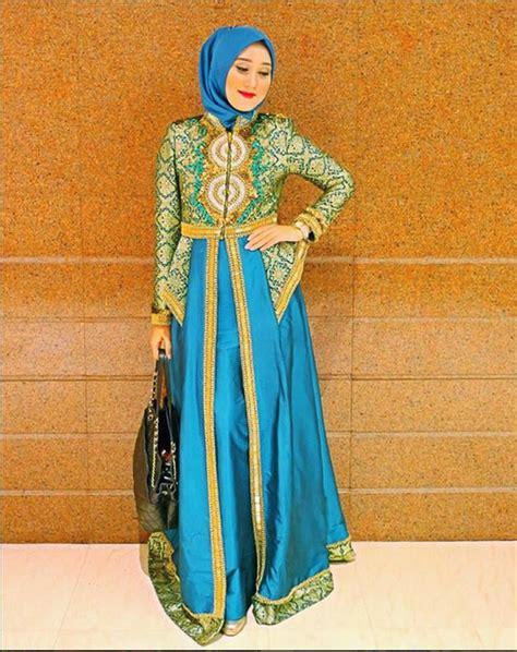 Baju Pesta Songket Varisha Fs2676 15 model baju songket elegan modern untuk acara formal