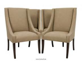 Furniture Dining Room Chairs Set Of 4 Italian Upholstered Parsons Living Room Dining Chairs For Sale At 1stdibs