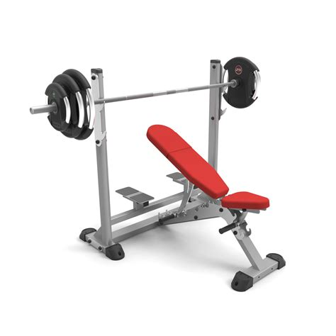 adjustable olympic bench adjustable olympic incline bench indigo fitness