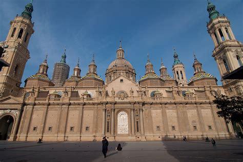 imagenes bonitas de zaragoza la seo y el pilar ceonato de iglesias en zaragoza