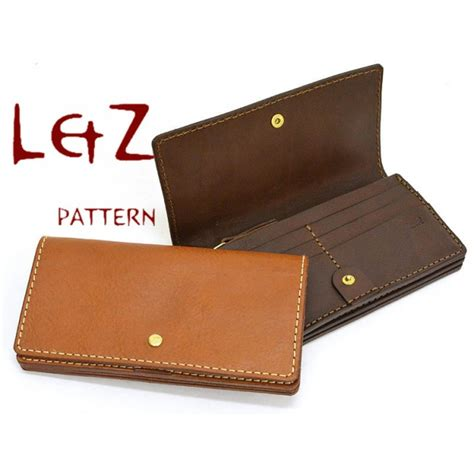 Leather Handcraft - bag pattern wallet patterns pdf ccd 33 leathercraft