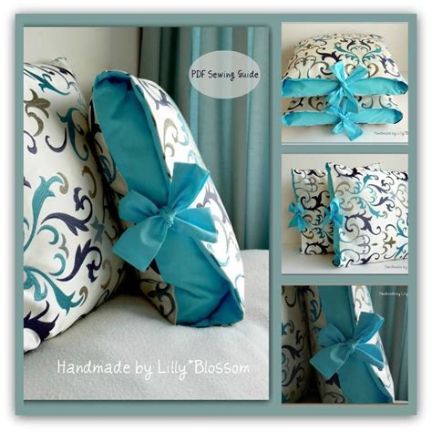 Pillow Patterns Sewing you to see pillow cover by lillyblossom