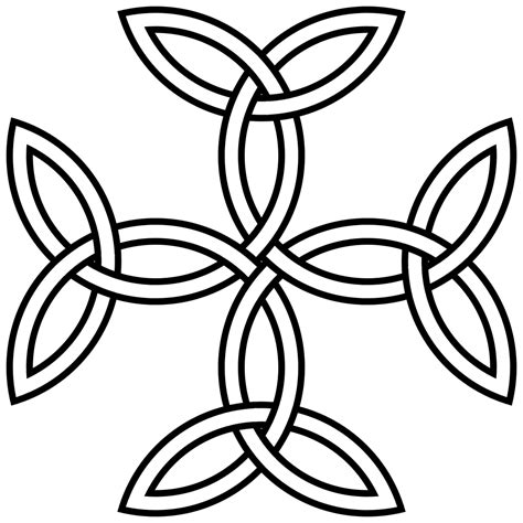 file triquetra cross svg wikimedia commons