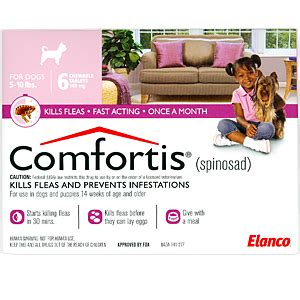 comfortis for puppies comfortis for dogs buy comfortis for dogs at lowest price in us
