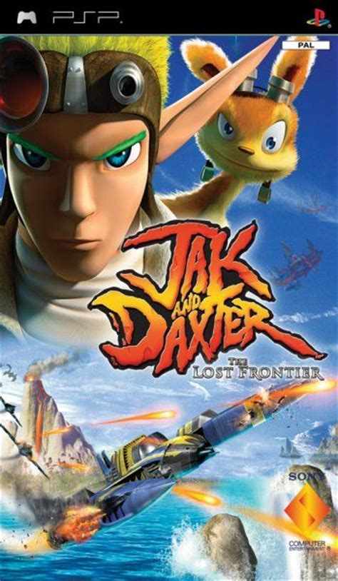 imagenes de jak and daxter jak and daxter the lost frontier para psp 3djuegos
