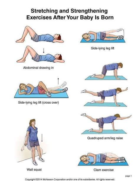 postanatal exercises in mississauga rapha rehab