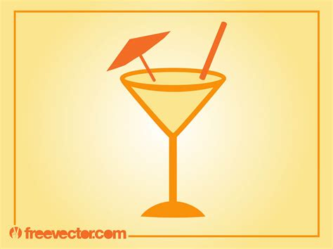 cocktail vector summer cocktail vector
