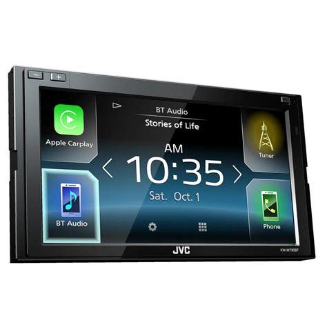 Laptop Apple Kw Jvc Kw M730bt 6 8 Quot Din Receiver With Apple Carplay Android Au