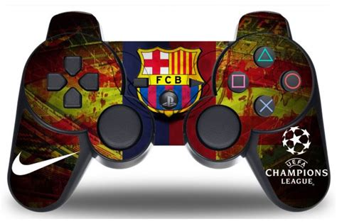 manette ps4 fc barcelone neymar sticker fc barcelone pour manette ps3