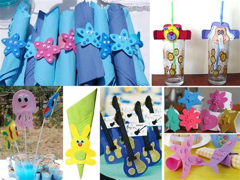 goma eva decoracion infantil manualidades en goma eva para cumplea 241 os