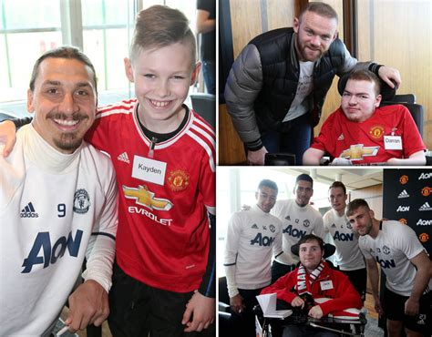 Manchester United Day manchester united meet fans on mu foundation