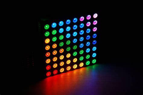 magic rgb led matrix driver platform colorduino