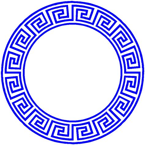 greek key pattern greek keys circular