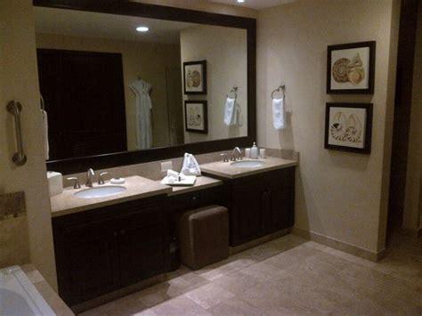 Ensuite double sink vanity picture of garza blanca preserve resort amp spa puerto vallarta