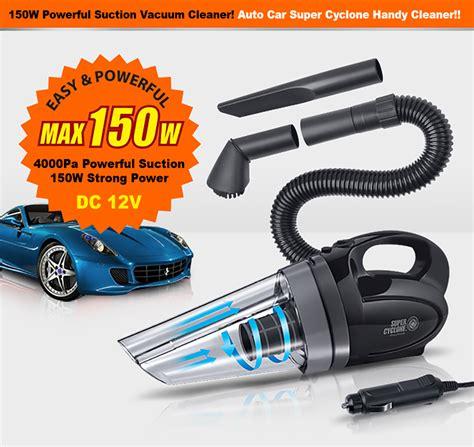 Monclova Portable Car Vacuum Cleaner portable cyclone handheld car vacuum cleaner