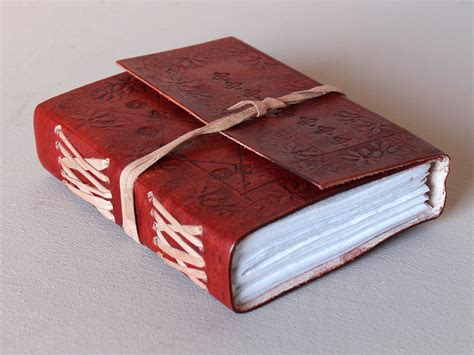 small leather notebook small leather notebook embossed cover leather journals scaramanga
