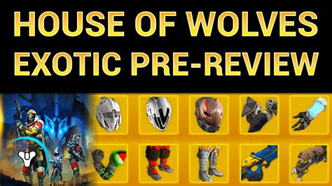 house of wolves armor games planetdestiny youtube
