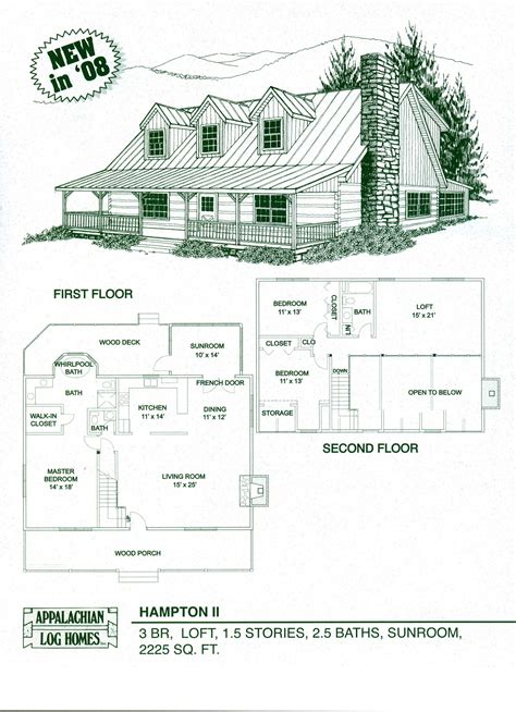 log cabin kits floor plans log home floor plans cabin kits appalachian homes luxury comes to mind with this lovely plan a