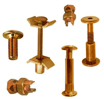 fasteners for electrical connections connector bolts jamnagar brass fittings