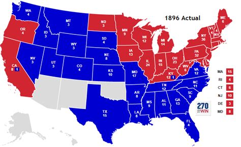 map of us election results historical u s presidential elections 1789 2016