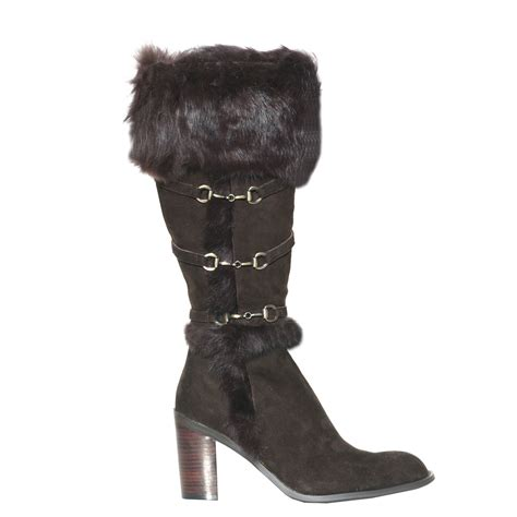 cochni brown suede dress boots for ebay