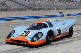 Porsche Gulf Livery The Porsche 917 In Gulf Livery Racing And Drivers