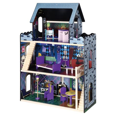 maxim monster mansion wooden doll house toy dollhouses  hayneedle