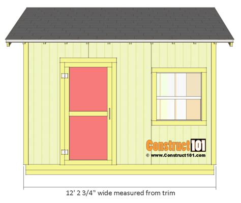 shed plans  gable shed step  step construct