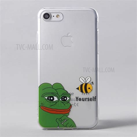 Frog Tpu For Iphone transparent clear patterned tpu soft for iphone 7 4 7 inch frog and bee tvc mall