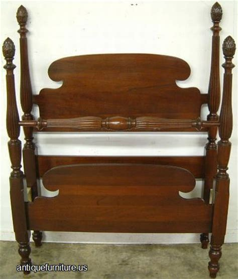 vintage twin bed antique mahogany twin bed at antique furniture us