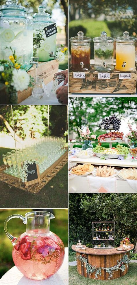 food ideas for backyard wedding 25 best ideas about wedding trends on pinterest 2017