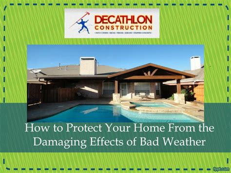 ppt how to protect your home from the damaging effects