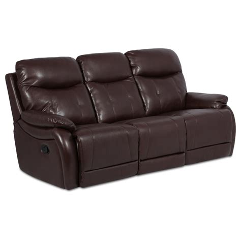 3 Seater Sofa Recliner Leather Recliner Sofa 3 Seater Eros Brown Price 478 58 Eur Pu Leather Recliner Sofas