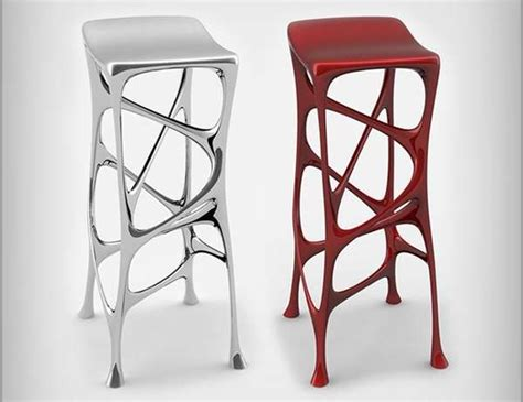 Alu Chair Design Ideas Liquid Metal Seating Modern Bar Stools Stolworthy