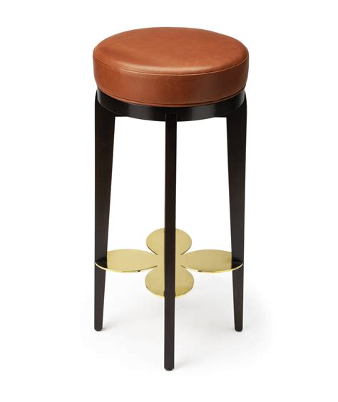 coin bar stool somerville luxury furniture