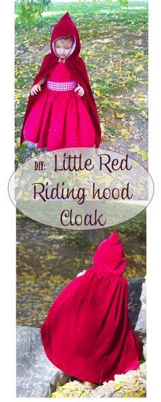 simple pattern for red riding hood cape super easy diy cloak using only one yard of fabric diy