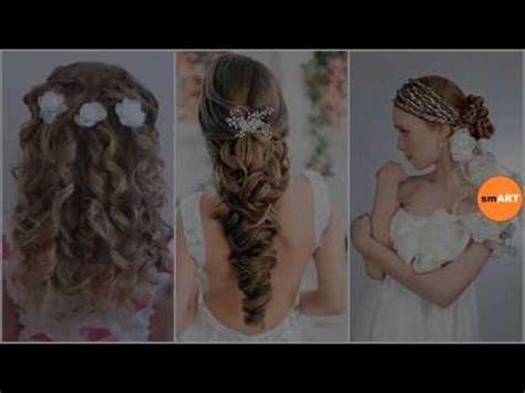 Flower Girl Updo Hairstyles   Super Cute Little Girl Hairstyles for Wedding   YouTube