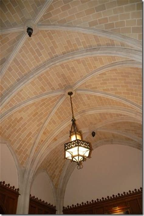 Groin Ceiling Groin Vaulted Ceiling With Brick House Ideas