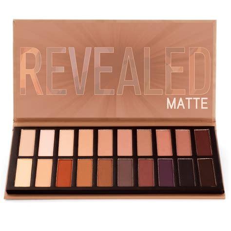 Okalan Matte Eyeshadow Palette revealed matte eyeshadow palette coastal scents